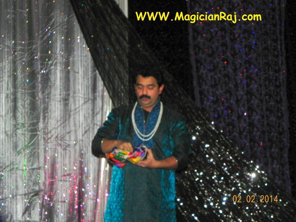 Indian Magician Raj