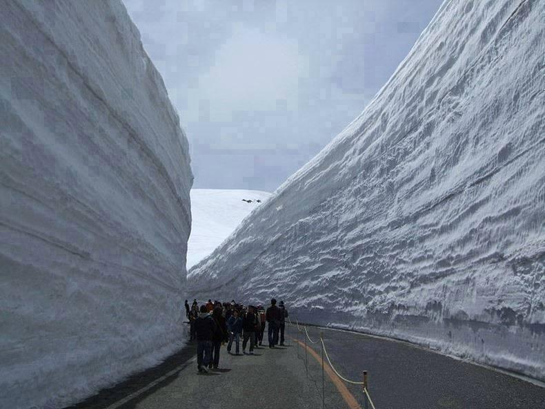 Amazing Road Photos in Snow