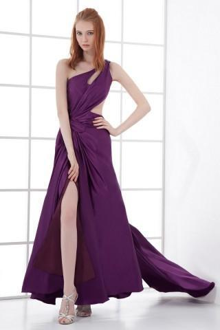 Purple Hot Wedding Dress
