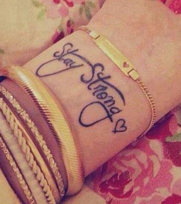Tattoo Ideas in wrist