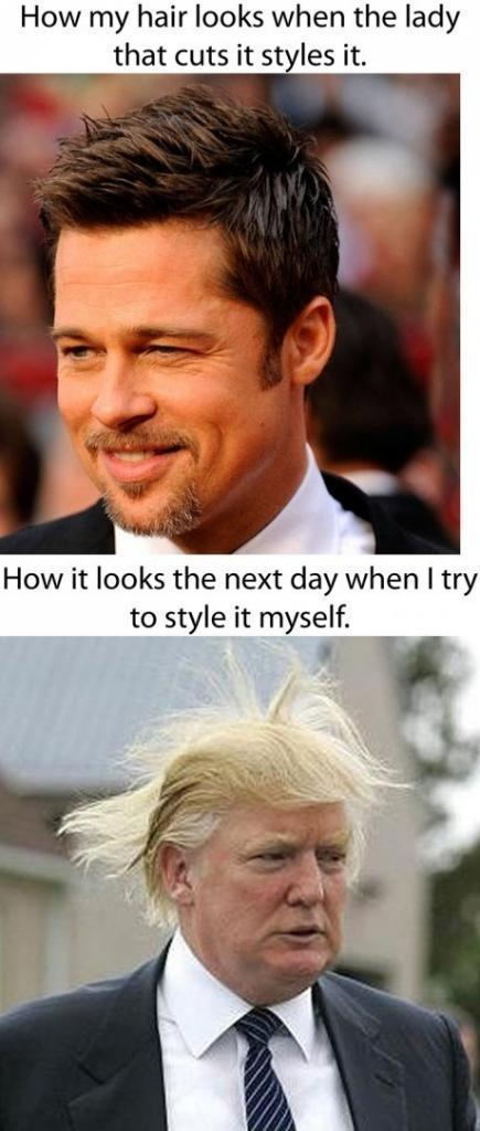 Hair Style.. How she did and how i do? LOL