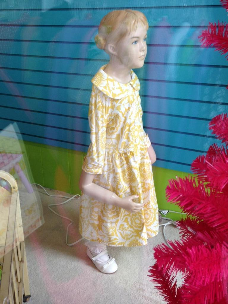 This child mannequin
