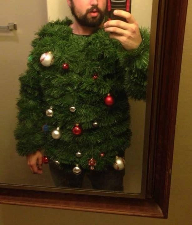 The ultimate ugly Christmas sweater! lol