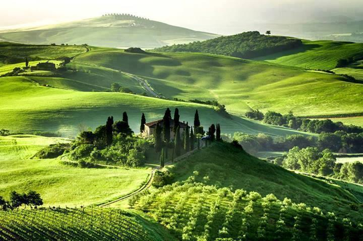 Dream House in Tuscany, Italy
