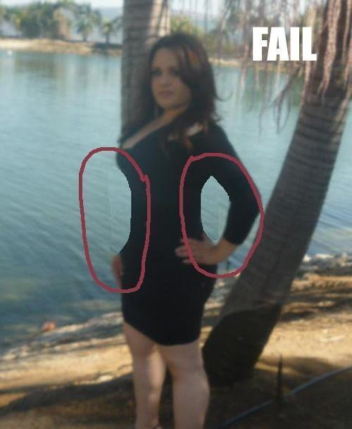 Fat Girl Photoshop Fail