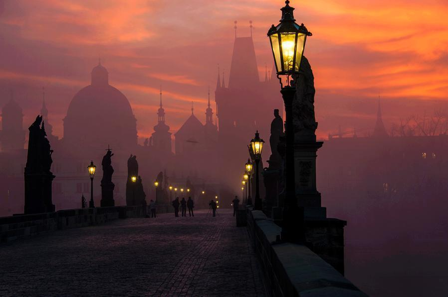 Prague at Dusk
