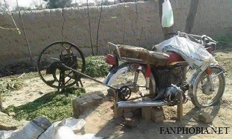 Funny Pakistani BIKE
