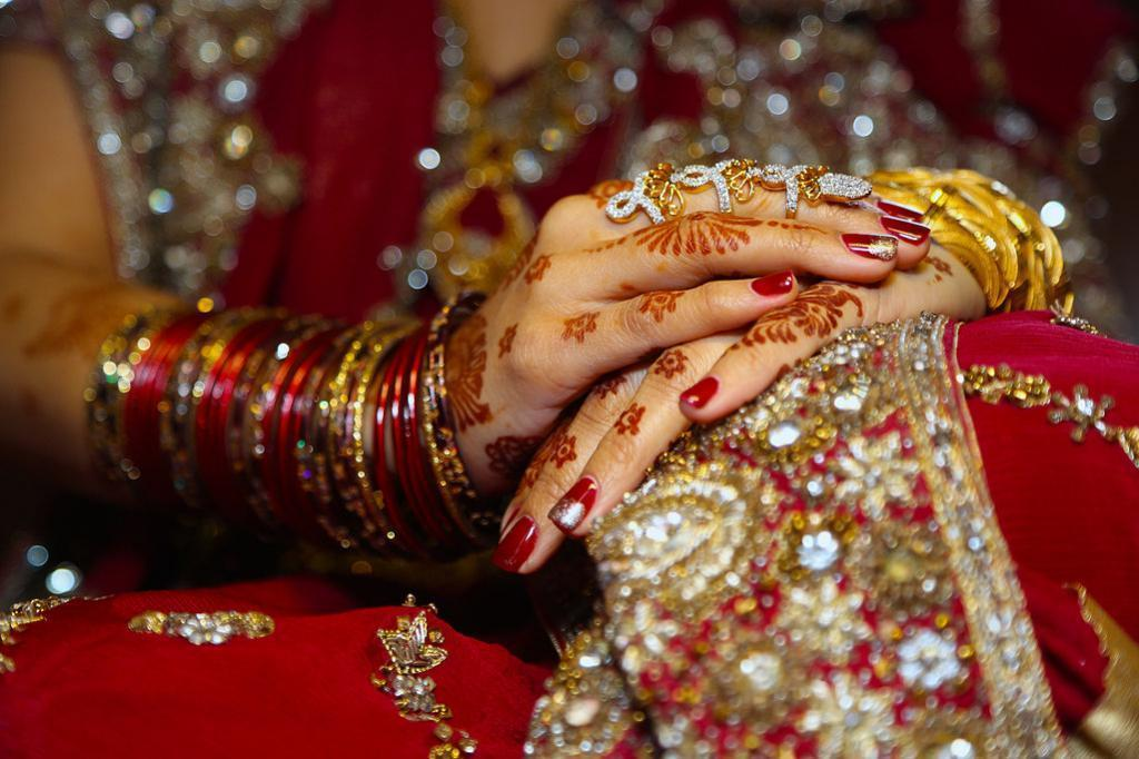Indian Bridal Mehandi