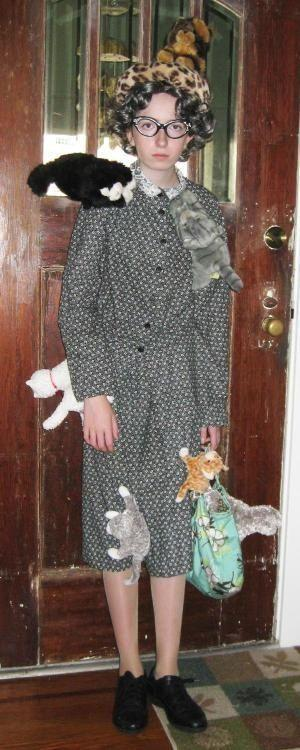 Crazy Cat Lady Halloween costume...