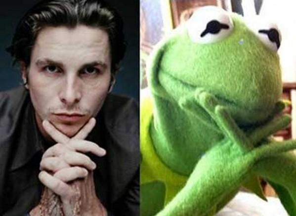 Christian Bale & Kermit