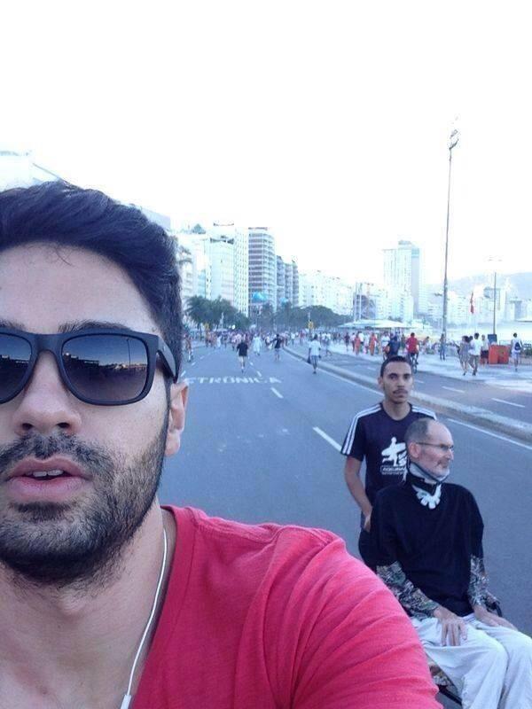 Steve Jobs is in Rio de Janeiro, alive.