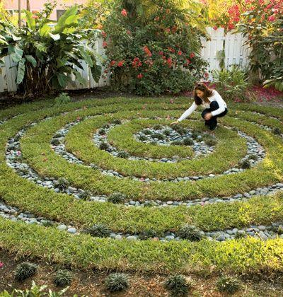 Why not a labyrinth