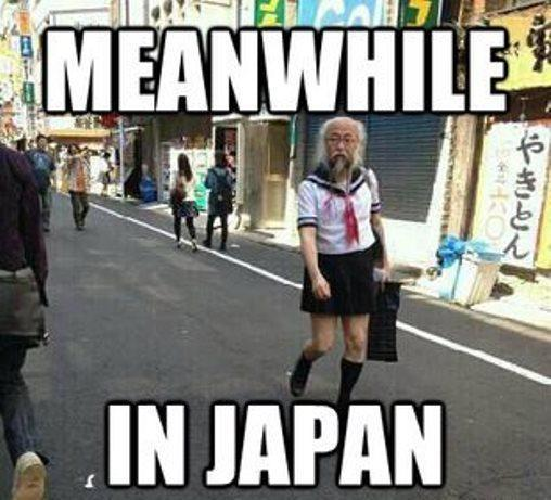 Meanwhile In Japan