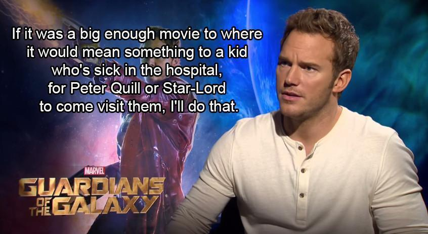 Chris Pratt Delivers