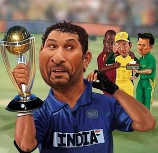 Sachin Tendulkar Got Best Cup