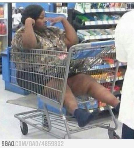 Meanwhile at walmart....and you wonder why you always get the one with