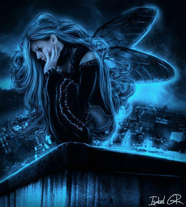 Dark Fairy by XangelinfinityX on deviantART