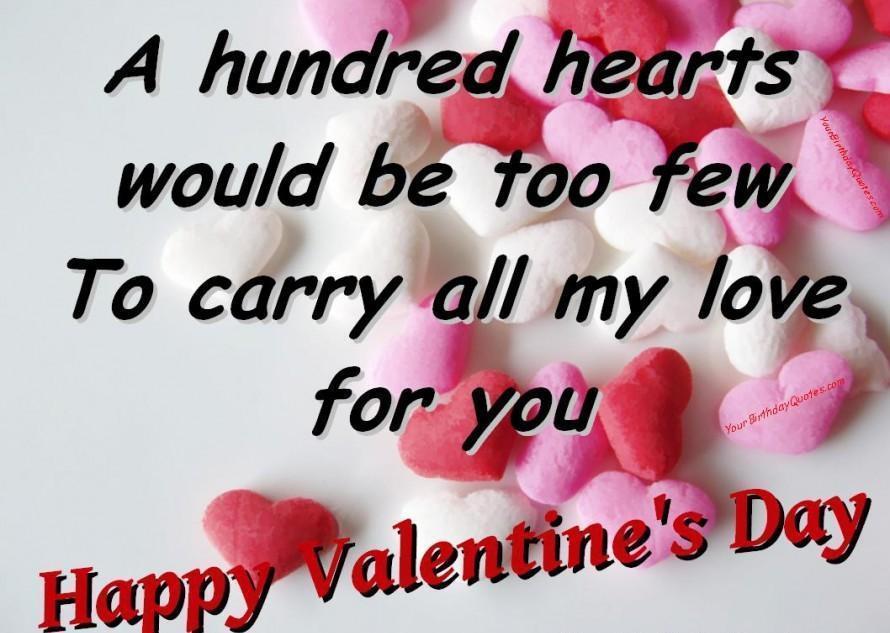 Valentine day qoutes