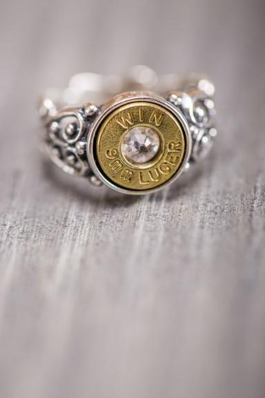 Bullet Ring for Southern Belles. Warriors Ring