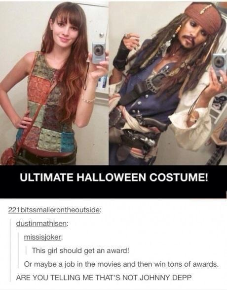 Ultimate Halloween Costume