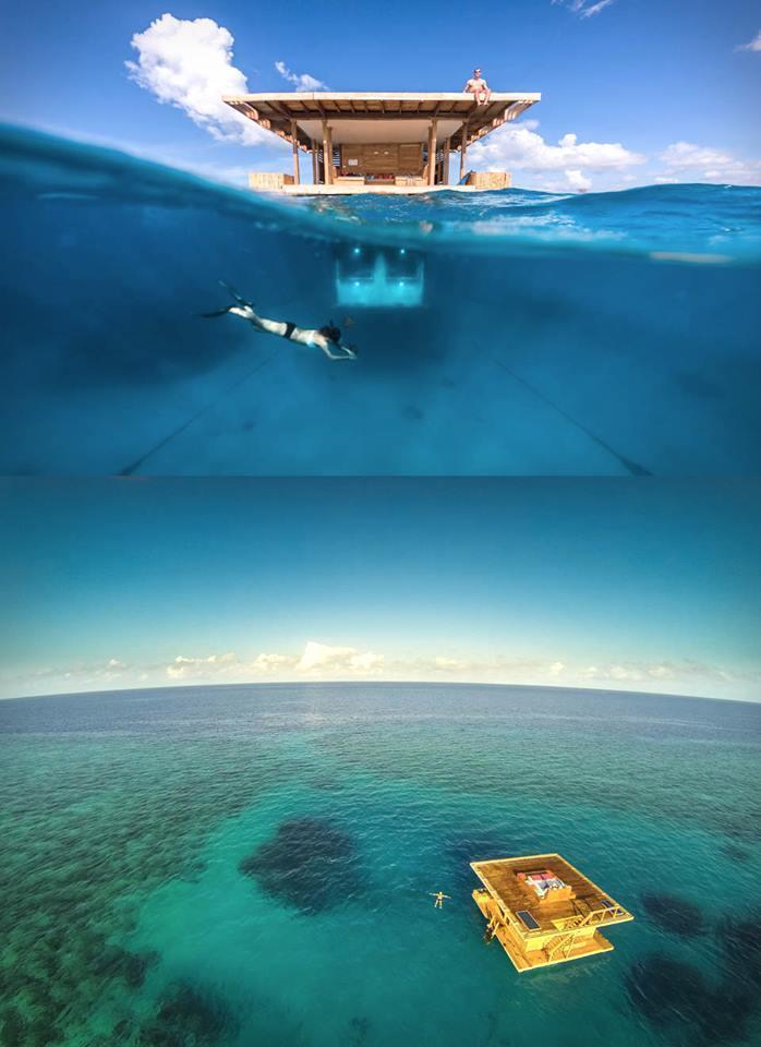 Manta Resort Underwater Room