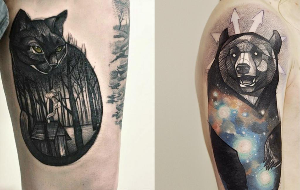 animal tattoos analysis