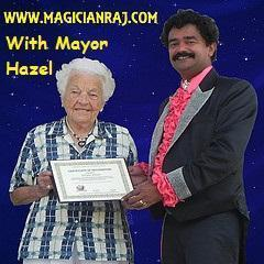 Award winning Magician Raj
