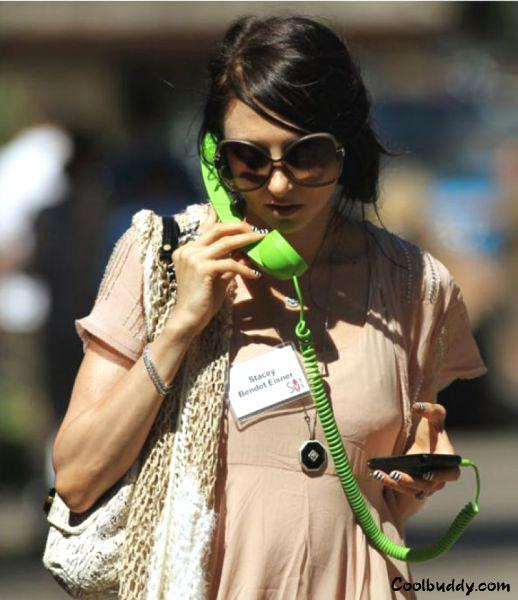 funny cell phone image by women