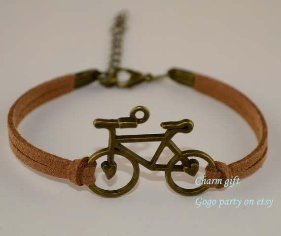 bicycle-Love charm bracelets