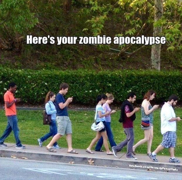 Mobile Zombie apocalypse
