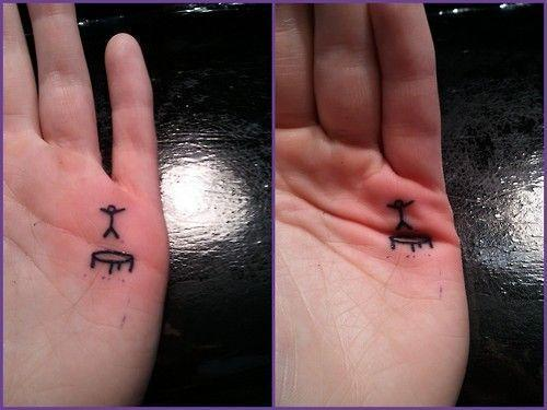 This is what you draw on your kid's hand to keep them busy for 30 min