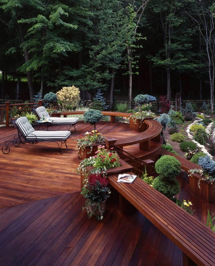 Beautiful deck design