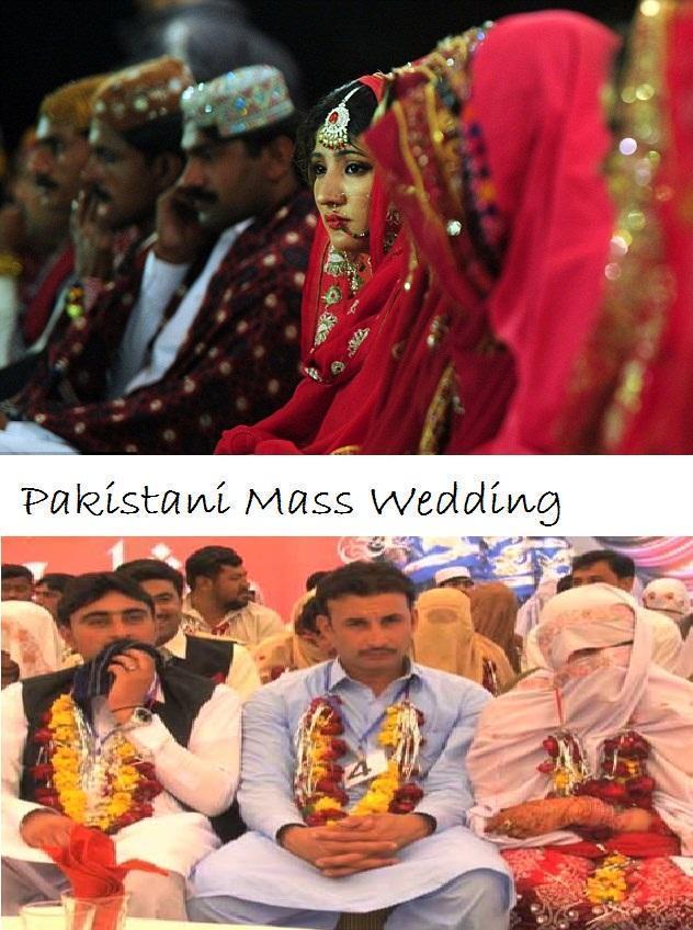 Pakistan Peshawari Mass Wedding