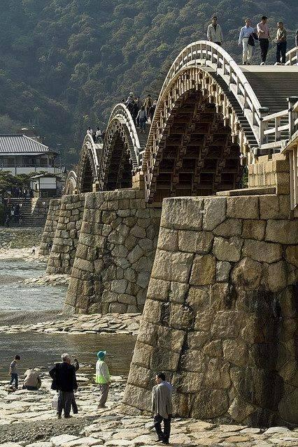 The Old Samurai Bridge - Japan
