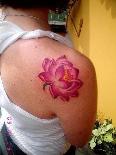 Shoulder tatoos