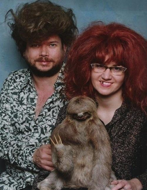 This wonderfully adorable family.  The 49 Most WTF Pictures Of People