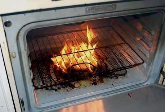 Put dried oak chips directly on the elements of your electric oven to