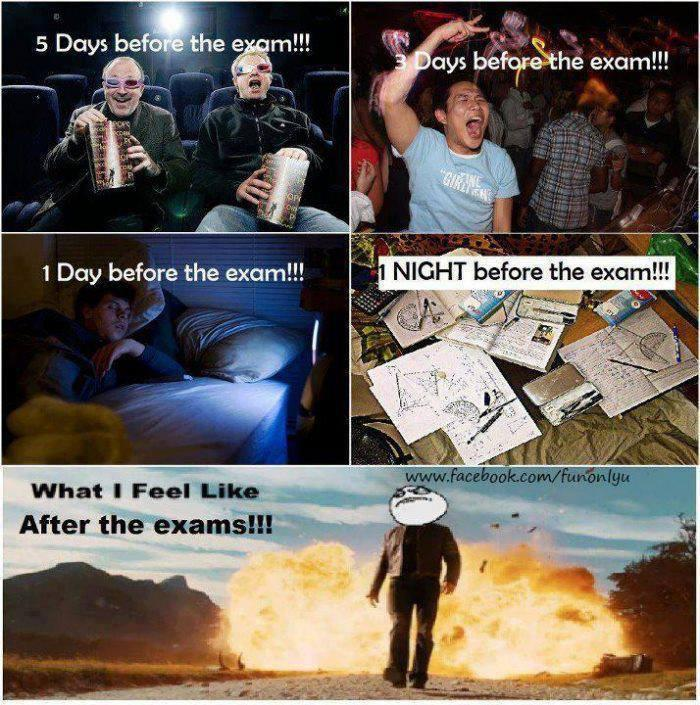 What i Feel after Exam... lol