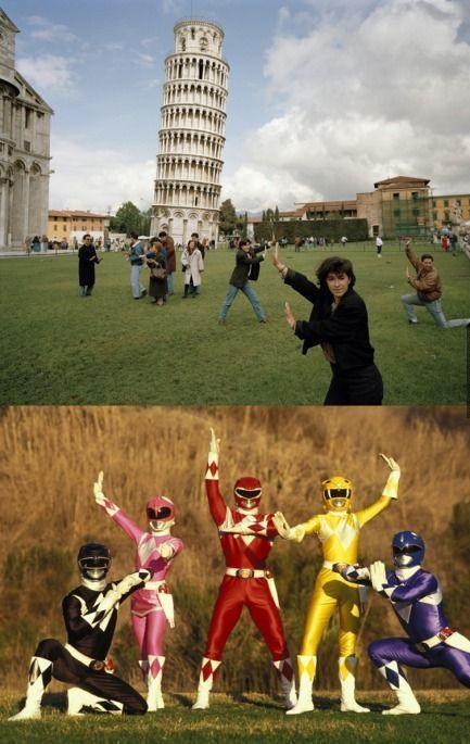 Mighty Morphin Tourists Rangers