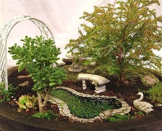Mini Garden Design Idea