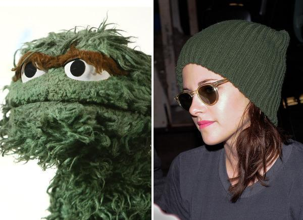 Oscar the Grouch & Kristen Stewart