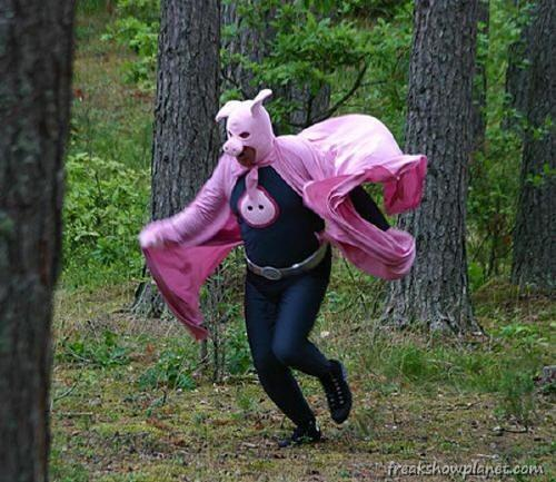 WTF Picture of the Day   Deranged Pig Man Is My WTF Moment Of The Day