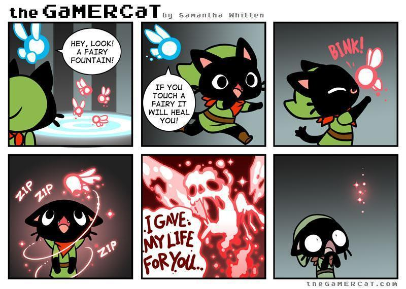I read a lot of webcomics, so I thought I would share them with you. Y