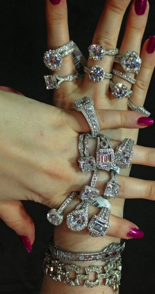 Um, do you think you'll buy me lots of diamonds
