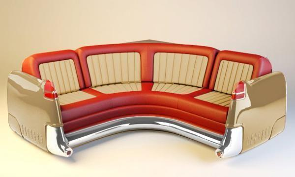 Amazing Ideas to Reuse and Recycle Old Cars for Unique Furnishings and