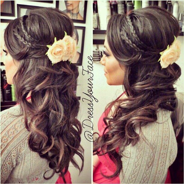 cute flower or something in my hair