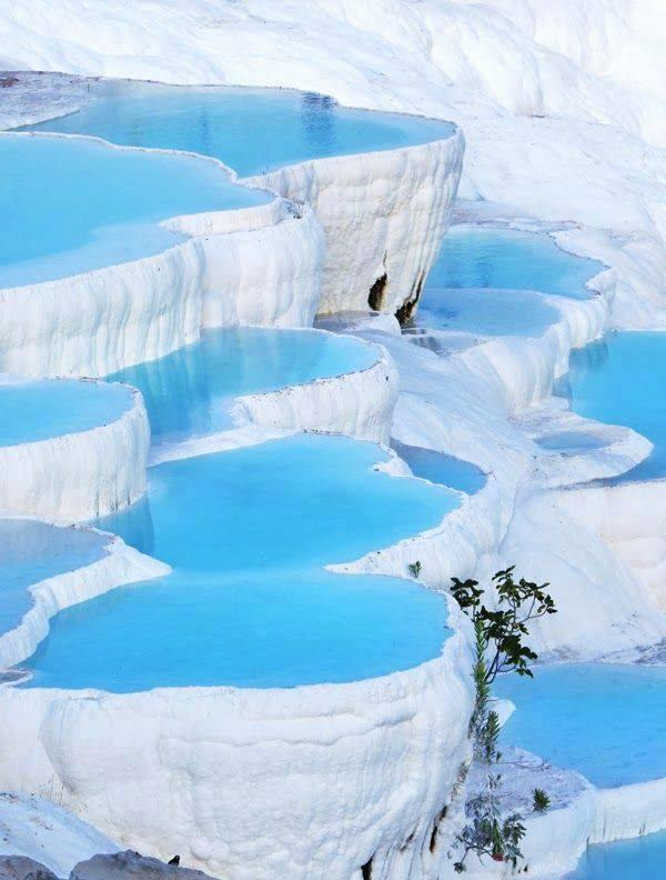 Pamukkale Thermal Pools,Turkey