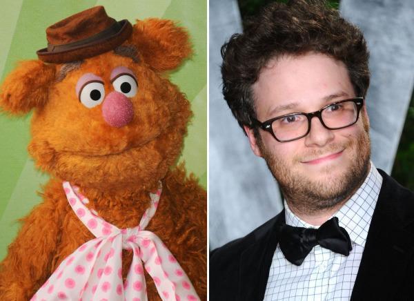 Fozzy Bear & Seth Rogen