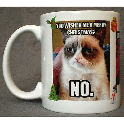 Grumpy Cat Xmas Theme Colo