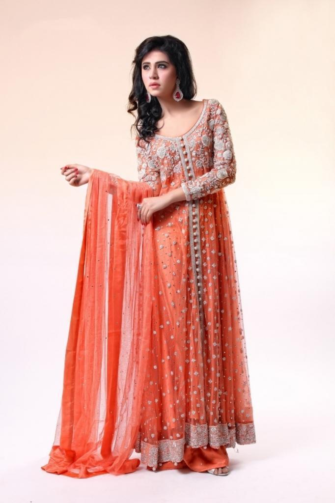 Orange Best Wedding Dress